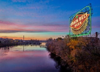 Grain Belt Beer sign, Minneapolis