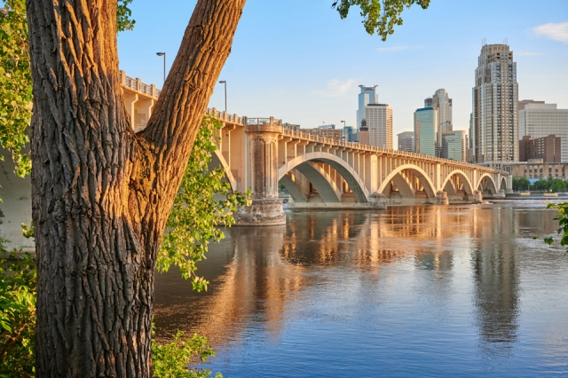 3rd Avenue Bridge in Minneapolis