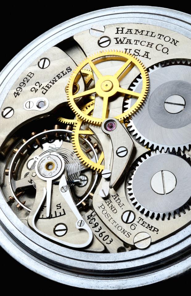 photograph of watch gears