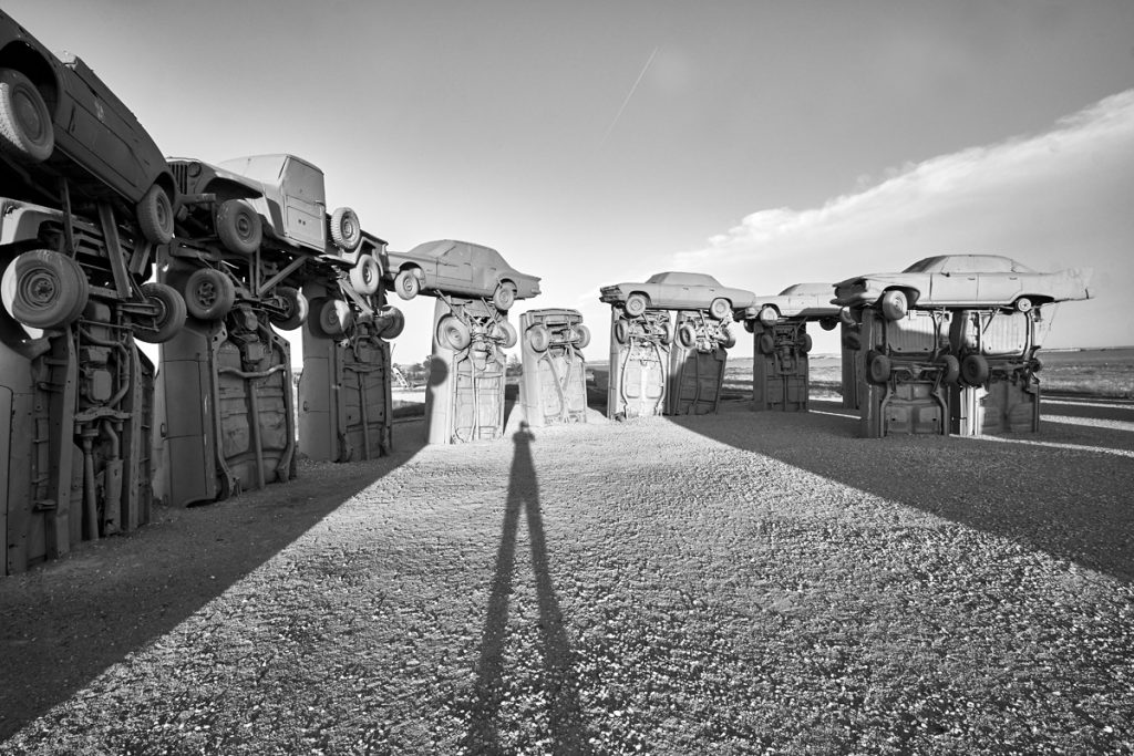 Photograph of Carhenge in Alliance Nebraska