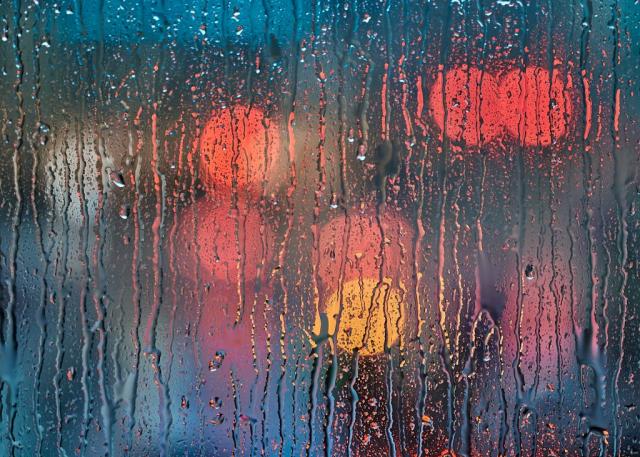 photograph Rainy Day Downtown